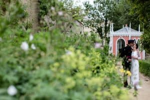 Rococo Gardens Wedding; Pink & Green; Lucy J Toms Photography